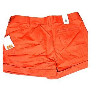 Joe Fresh Women's Red Shorts Size 8